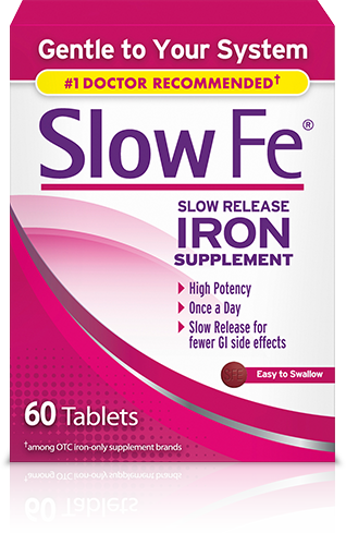 Slow Release Iron Supplement product image